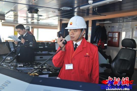 渤海湾首次LNG船岸应急演习在河北举行