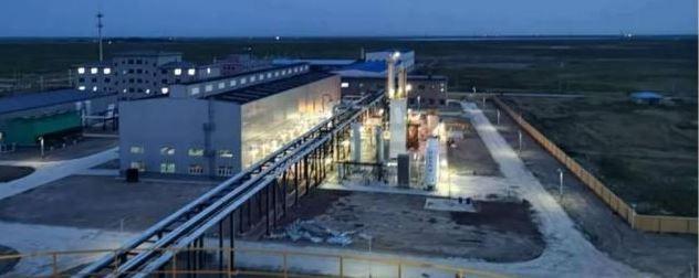 城市管道天然气液化调峰储备装置