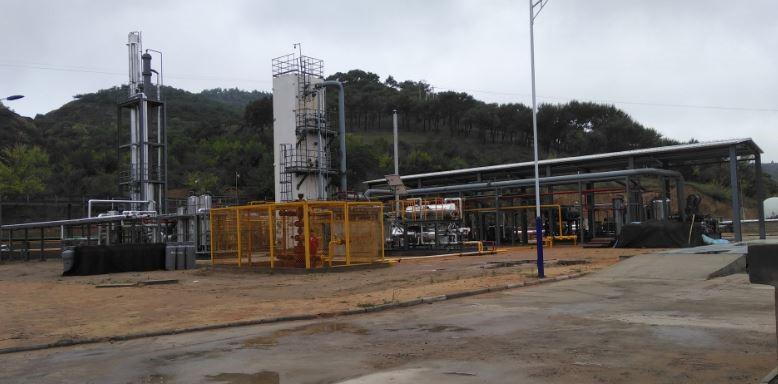 边远井口天然气液化装置